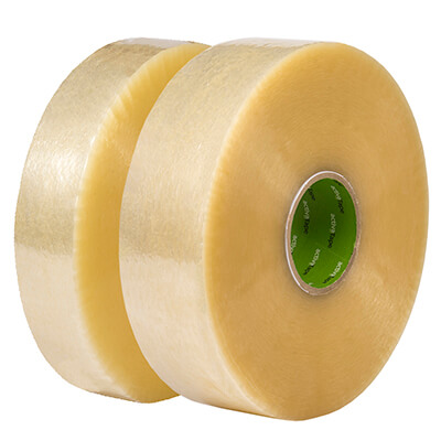 BASIC Maschinenklebeband, transparent, 48mm x 990m, 6 Rl./Ka.