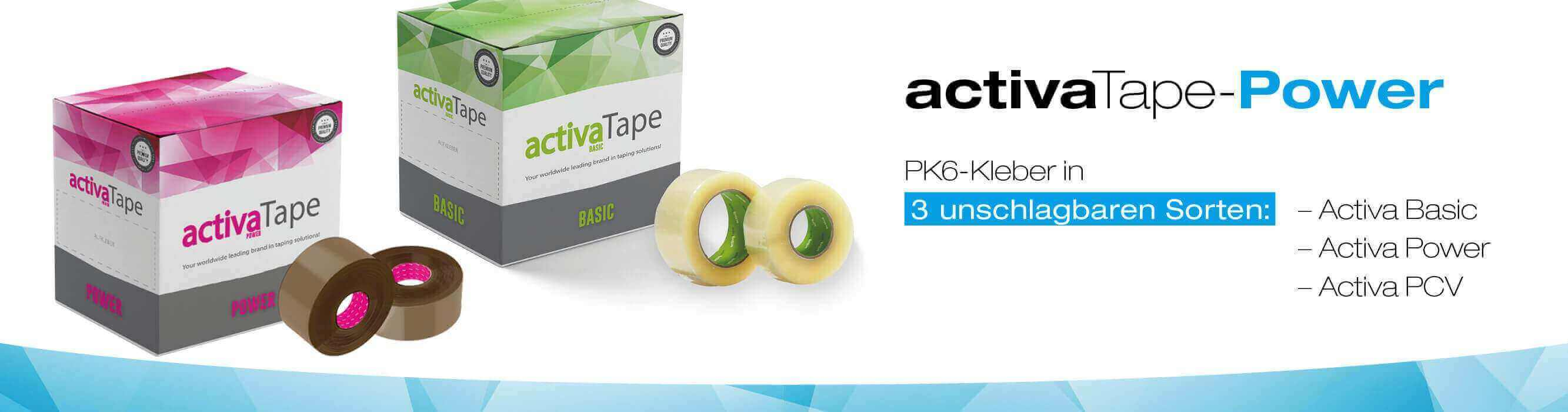 Activa Tape banner